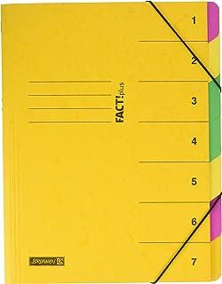 Brunnen 102024795 文件夹 FACT!plus (A4 7 部分 索引,纸盒,分类)