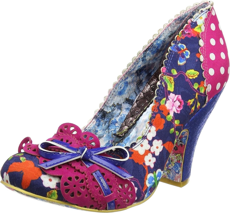 Irregular Choice Women's Make My Day bluee and Pink Pump