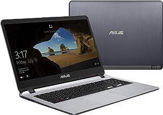 Asus Laptop 15.6 inches LED Laptop (Gray) - Intel i3-7020U 2.0 GHz, 4 GB RAM, 1000 GB HDD, Intel shared, Windows 10