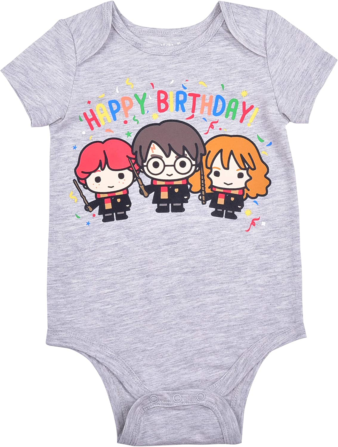 Free shipping Harry Potter Baby Boy's Short Bodysuit Birthday Cree Sleeve outlet