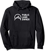 Public Land Owner Conservation Outdoors Mountain Lover Gift Pullover Hoodie