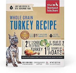 The Honest Kitchen Human Grade Dehydrated Organic Grain Turkey Dog Food 2 lb - Keen