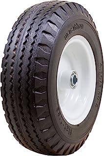 "Marathon 00123 4.10/3.50-6"" Hand Truck/All Purpose Utility Tire on Wheel, 3"" Centered Hub"
