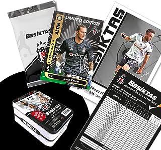 Besiktas Istanbul Besiktas Istanbul Original lizenzierte 48 Spielerkarten Sammelkarten mit Orig. Unterschriften Fußballkarten Saison 2019/20 Fanartikel Set mit Geschenkbox BJK