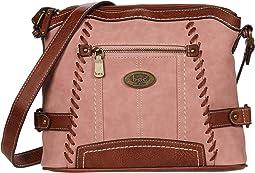 Dusty Pink/Saddle
