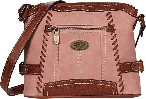 Dusty Pink/Saddle