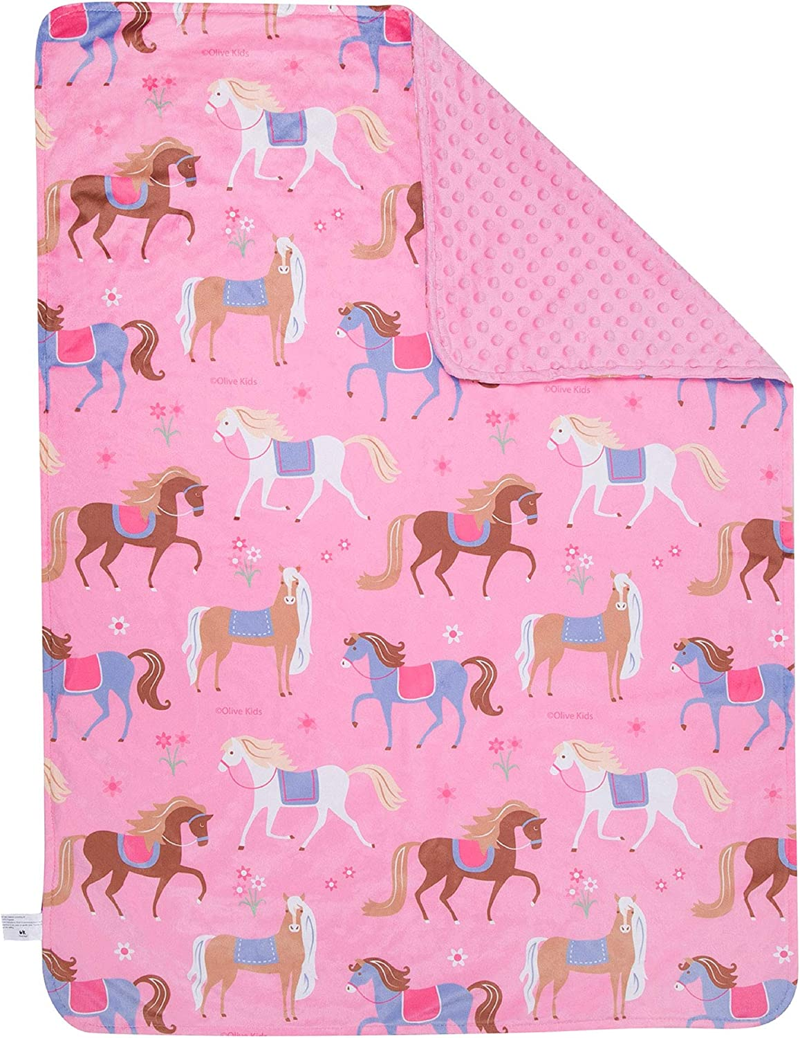 Wildkin Plush A surprise price is realized Throw Blanket Dallas Mall for Girls and Perfect Boys Toddler