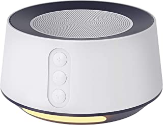 Letsfit White Noise Machine with Adjustable Baby Night Light for Sleeping, 14 High..