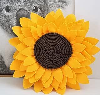 Best sunflower shaped pillow Reviews