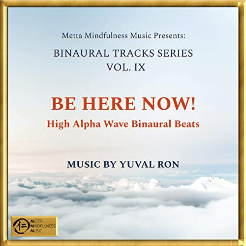 Be Here Now!: High Alpha Wave Binaural Beats