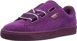 PUMA Women's Suede Heart Satin Wn Sneaker