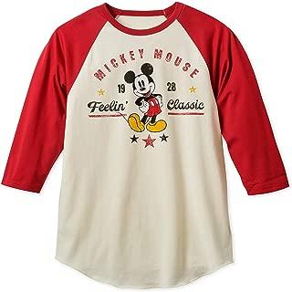 Disney Mickey Mouse Feelin' Classic Baseball T-Shirt for Men Multi