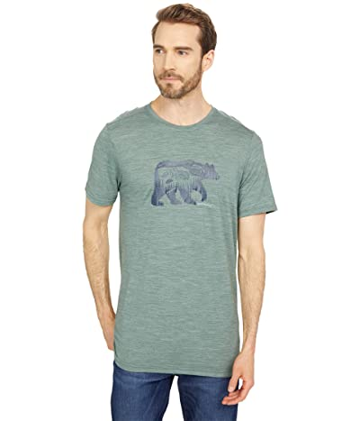 Smartwool Merino Sport 150 Bear Camp Tee (Sage Heather) Men