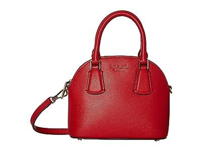 Kate Spade New York Sylvia Mini Dome Satchel (Hot Chili) Handbags