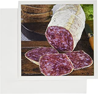 3dRose Italy, Tuscany, Cuisines, tuscan salame - EU16 NTO0102 - Nico Tondini - Greeting Cards, 6 x 6 inches, set of 6 (gc_82144_1)