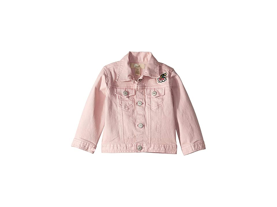 PEEK Over The Rainbow Jacket (Toddler/Little Kids/Big Kids) (Pink) Girl