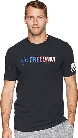 UA Freedom Chest Tee