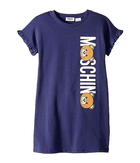 Moschino Kids Toy Bear Logo Dress (Little Kids/Big Kids)