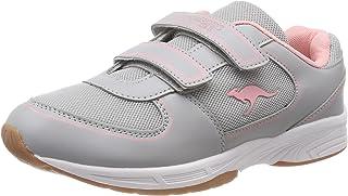 (6.5 UK, Grey (Vapor Grey/Frost Pink 2063)) - Kangaroos Unisex Kids' Sinu V Trainers