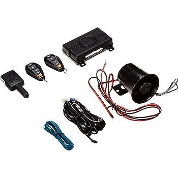 Viper 350 PLUS 3105V 1-Way Car Alarm Keyless Entry,BLACK