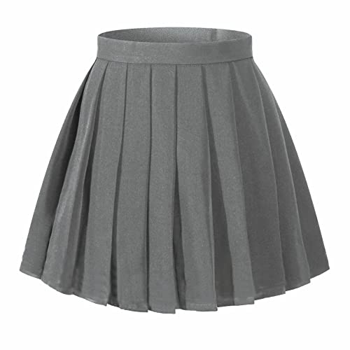 0a93492baa Beautifulfashionlife Women's Japan high Waisted Pleated Cosplay Costumes  Skirts