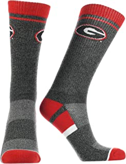 TCK Georgia Bulldogs Socks Pep Rally Crew Length