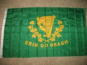 3X5 Ireland Irish Erin Go Bragh Harp Polyester Flag 3'X5' Fade Resistant Outdoor