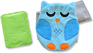 Baby Colic, Gas and Upset Stomach Relief – Belly Hugger – A Soothing Warmth Combined with Gentle Compression (Blue)