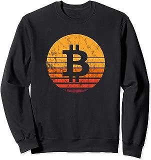 Bitcoin Vintage Sunset Sweatshirt