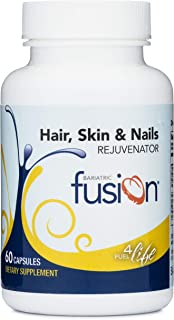Bariatric Fusion ONE Per Day Bariatric Hair, Skin & Nails REJUVENATOR for Bariatric Surgery Patients Including Gastric Bypass and Sleeve Gastrectomy, 60 Count