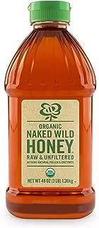 Naked Wild Honey Organic Raw Wildflower, 48 Ounce