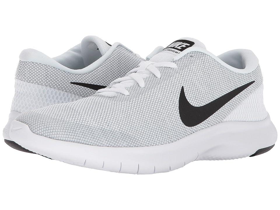 Nike Flex Experience RN 7 (White/Black/Wolf Grey) Men's Running Shoes