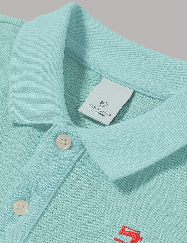 Scotch /& Soda Garment Dyed Polo Ni/ños
