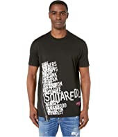 DSQUARED2 - Cool Fit Asymmetric Zip T-Shirt