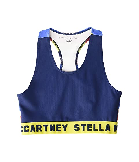 Stella McCartney Kids Sport Crop Top (Big Kids)