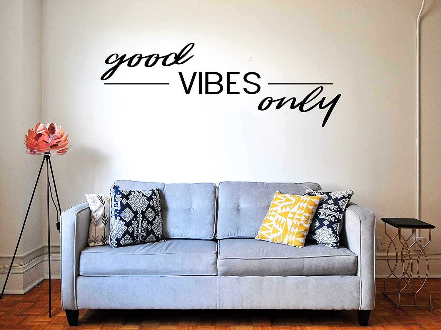 Good Vibes Only Vinyl Sign Decal Ar Raleigh Mall Baltimore Mall Sticker Decor Car Home for