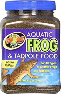 Zoo Med Aquatic Frog and Tadpole Food, 12 Ounces Each, Made in The USA