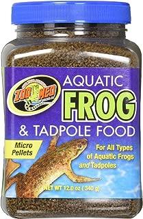 zoo med frog food