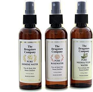 The Drugstore Company Essential Face & Body Mist Trio Pack