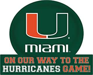 Miami Hurricanes Jumbo On Our Way Magnet 2-Pack