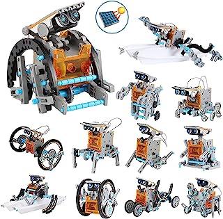 OFUN Juguete Robot Stem para niños, 12 in 1 Robots Kit de Ciencia Divertido Juego Creativo y DIY Juguetes, Manualidades Re...
