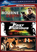 Action Adventure - Spotlight Collection: [The Bourne Identity / The Fast and the Furious / The Mummy]