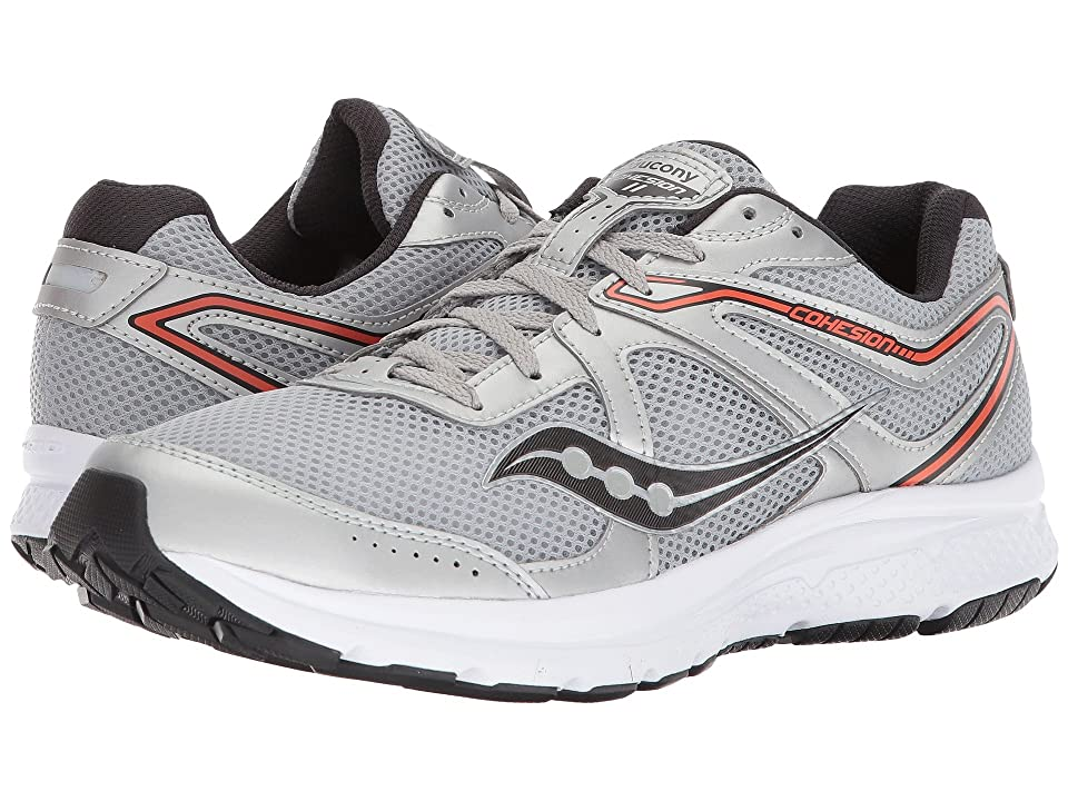 Saucony Cohesion 11 (Silver/Orange) Men