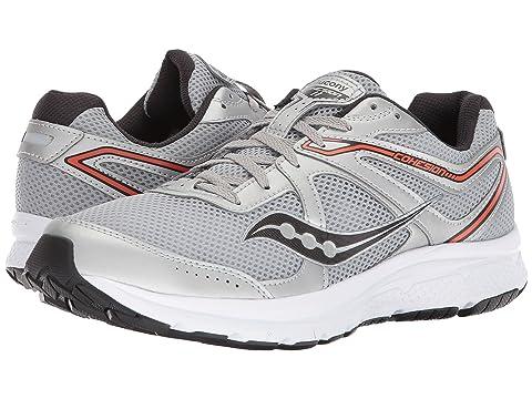 Men's Saucony Cohesion 11 Running Sneaker, Size: 9.5 M, Gunmetal/Black
