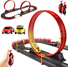Best Choice Products Electric Slot Car Race Track Set Boy Kids Toy w/ 2 Battery Operated..
