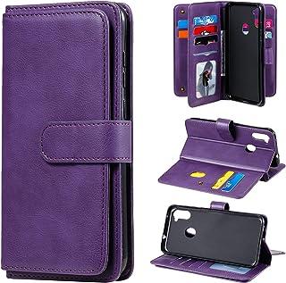 LODROC Lederen Portemonnee Case voor Galaxy A11, [Kickstand Feature] Luxe PU Lederen Portemonnee Case Flip Folio Cover met...