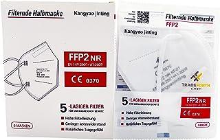 100x FFP2 Schutzmaske 5-Lagig hygienisch einzelverpackt CE0370 Zertifiziert nach EU 2016/425