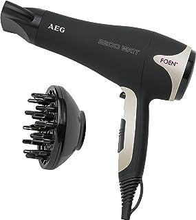 comprar comparacion AEG HTD 5595 - Secador de pelo profesional con difusor, 3 niveles de temperatura, 2 velocidades, cable de 2 metros, 2200 W...