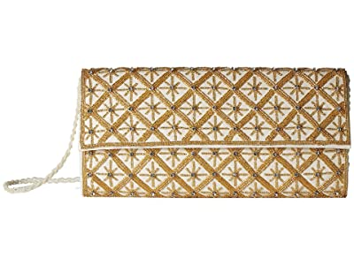 Adrianna Papell Izzie (Champagne/Gold) Clutch Handbags
