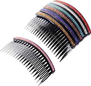 double hair comb bridal